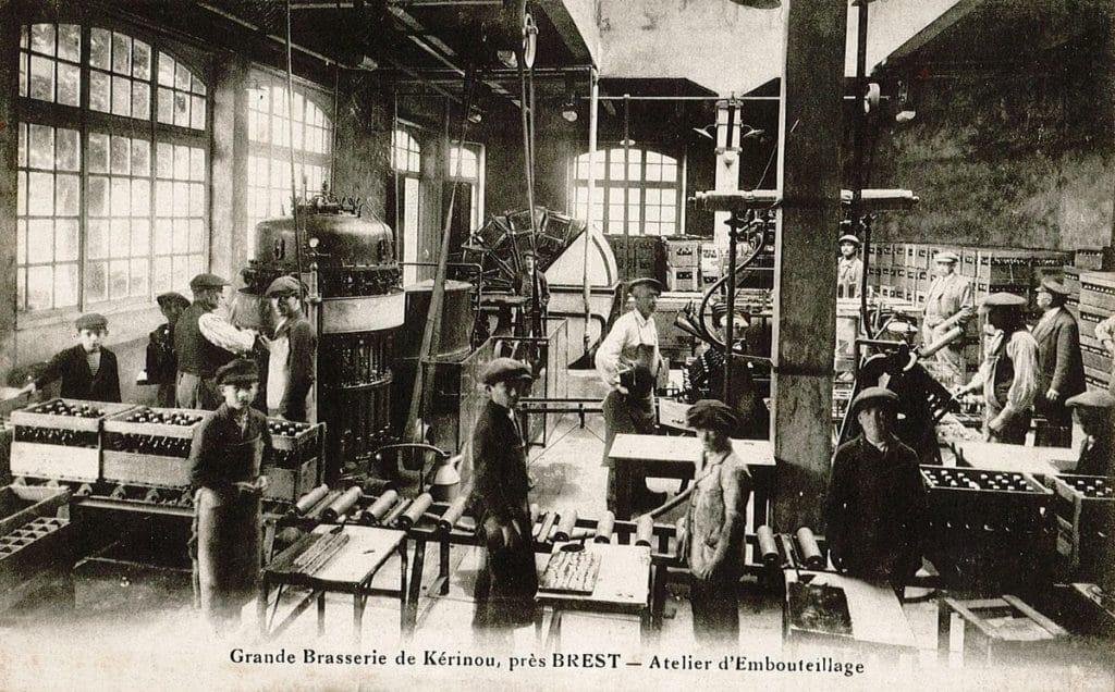 Atelier d'embouteillage de la Grande Brasserie de Kerinou